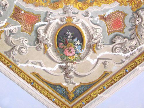 Soffitto A Volta Affrescato : Soffitti decorati u idee per rendere unico il soffitto di casa